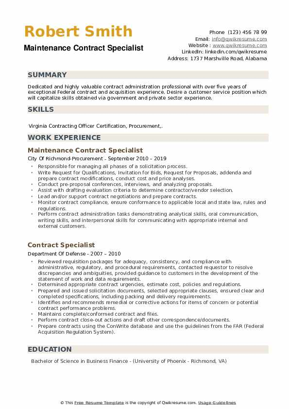 contract specialist resume samples qwikresume federal government pdf general skills for Resume Federal Government Contract Specialist Resume