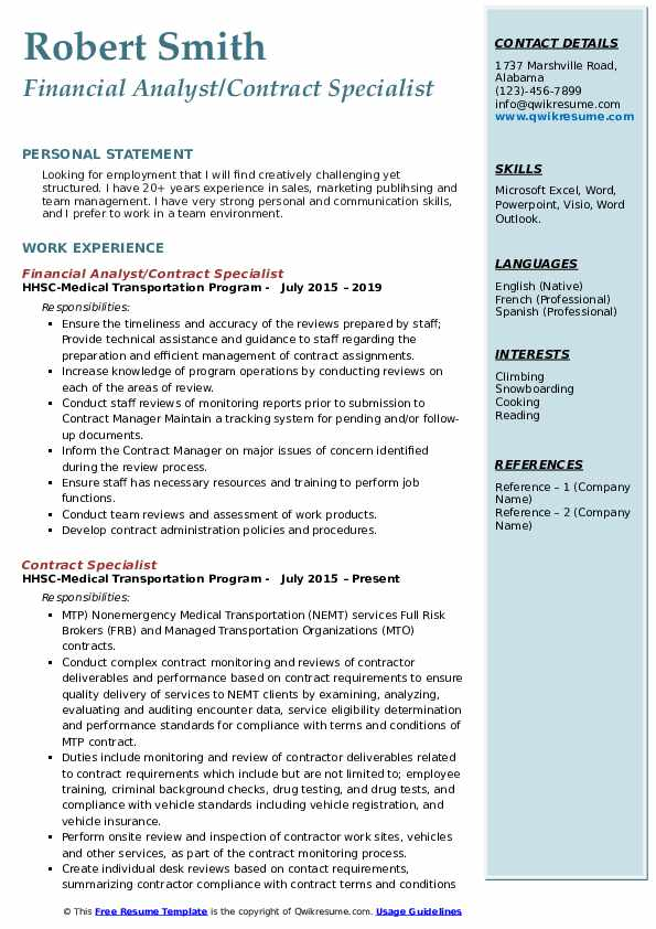 contract specialist resume samples qwikresume federal government pdf high school examples Resume Federal Government Contract Specialist Resume