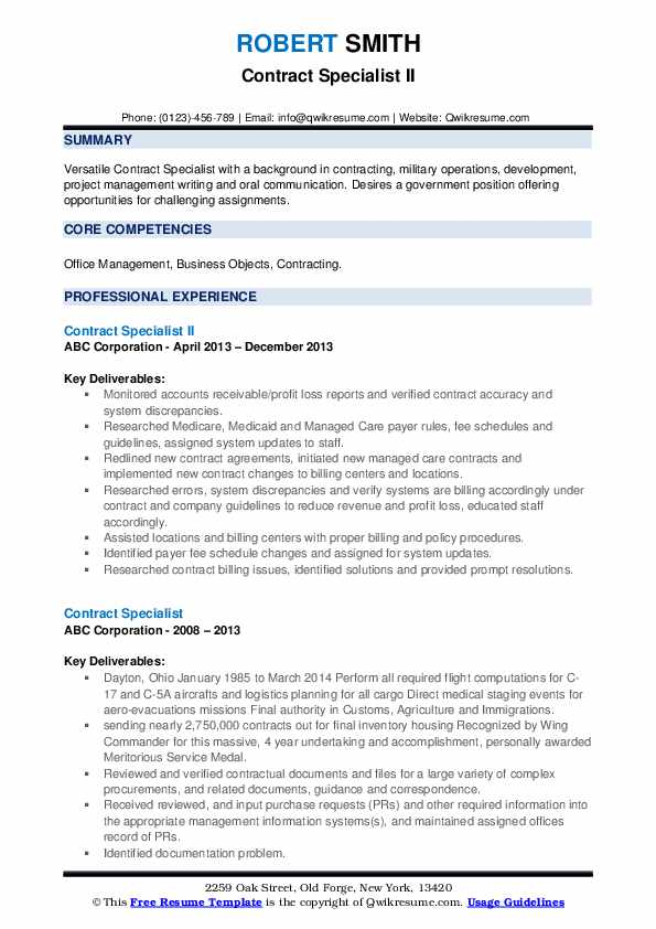 contract specialist resume samples qwikresume federal government pdf sample regulatory Resume Federal Government Contract Specialist Resume