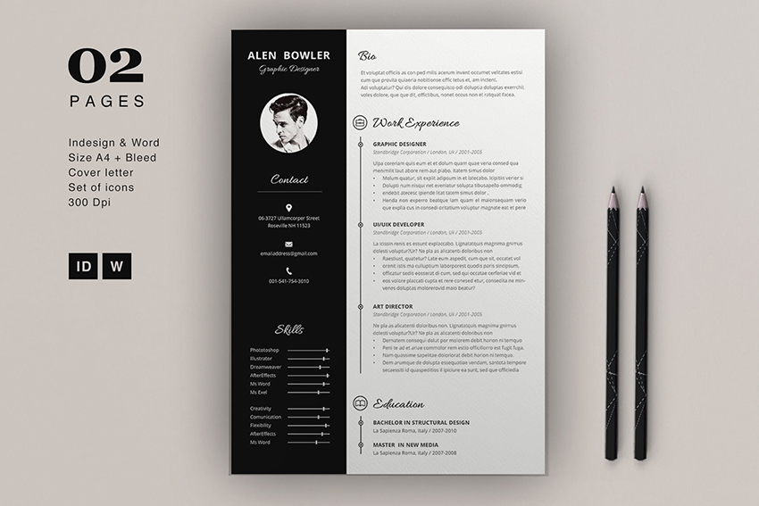 cool colorful resume cv templates to stand out creatively in professional colors classic Resume Professional Resume Colors