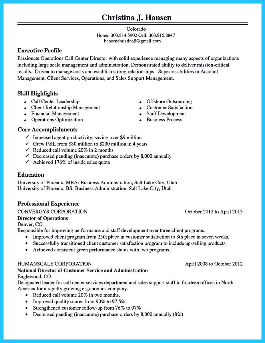 cool information and facts for your best call center resume sample good objective Resume Call Center Resume Objective