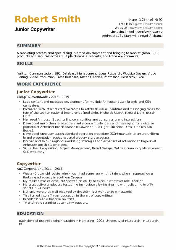 copywriter resume samples qwikresume entry level pdf cost accountant child care assistant Resume Entry Level Copywriter Resume