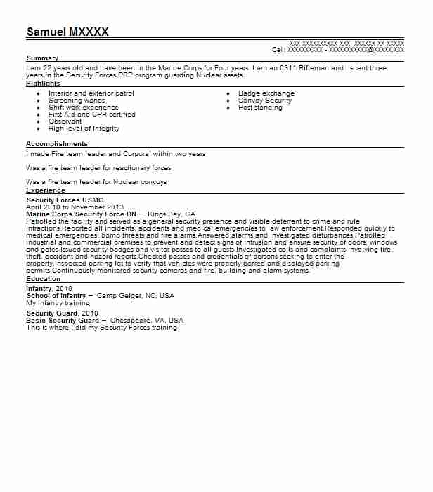 corporal usmc resume example marine corps skills for office manager researcher sample Resume Marine Corps Skills For Resume