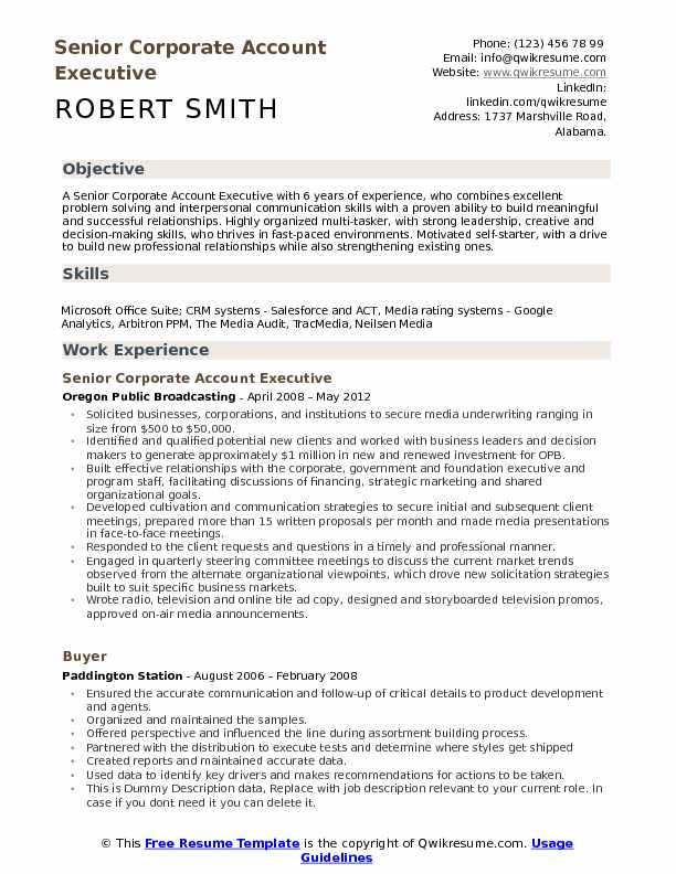 corporate account executive resume samples qwikresume sample for client service pdf Resume Sample Resume For Client Service Executive