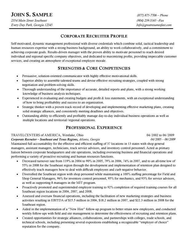 corporate recruiter resume self motivated examples game designer annotated targeted Resume Self Motivated Resume Examples