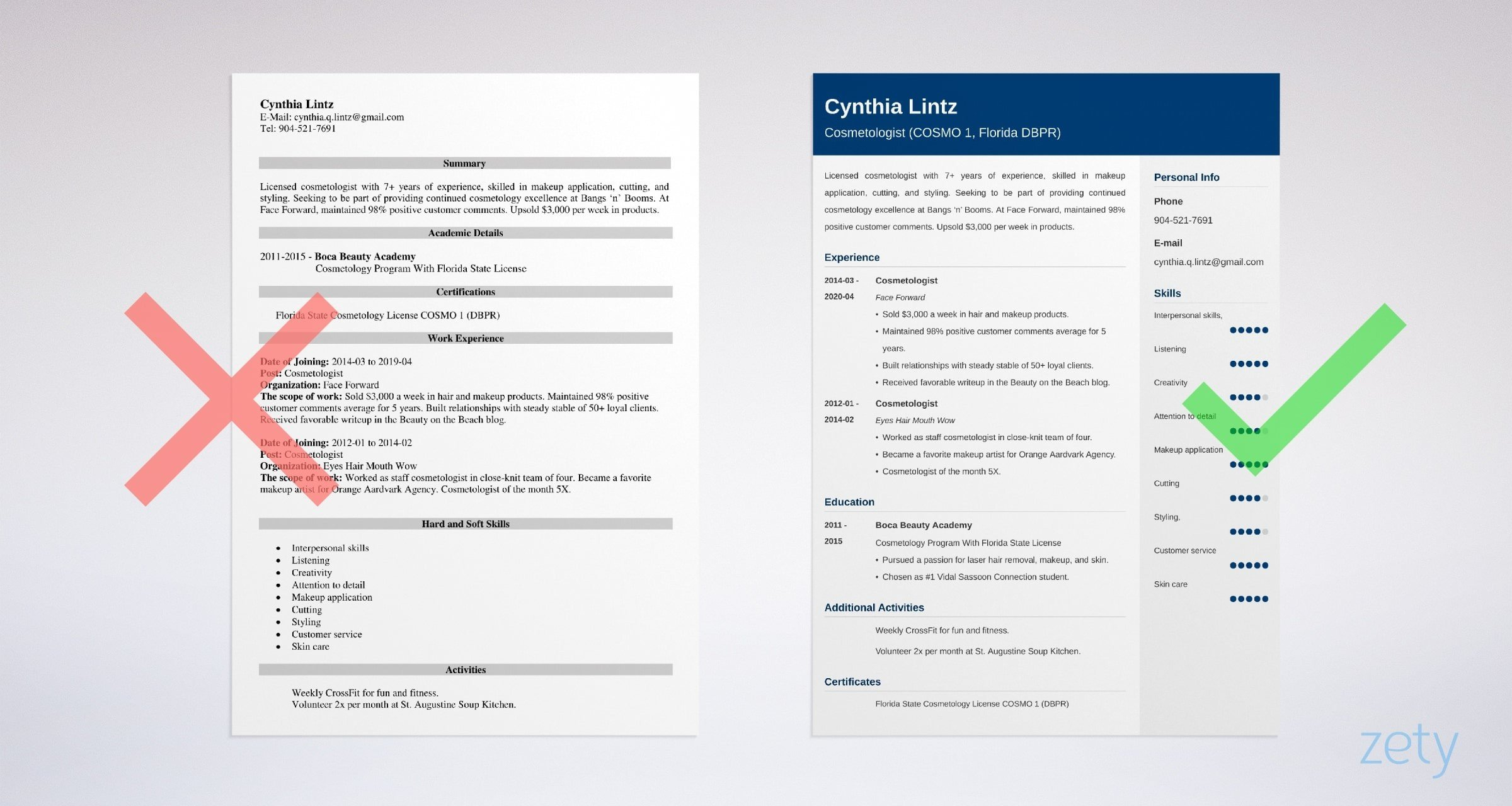 cosmetologist resume samples cosmetology skills included sample example police officer Resume Cosmetology Resume Sample