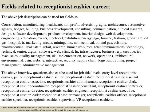 cover letter for car dealership receptionist resume top cashier interview questions and Resume Car Dealership Receptionist Resume