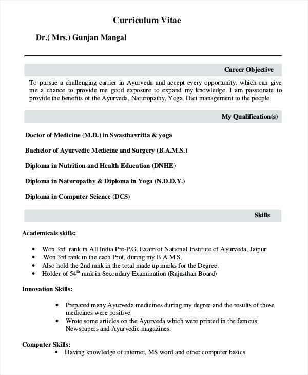 cover letter for fresher doctor with additional shadowing sample resume format examples Resume Shadowing A Doctor Resume