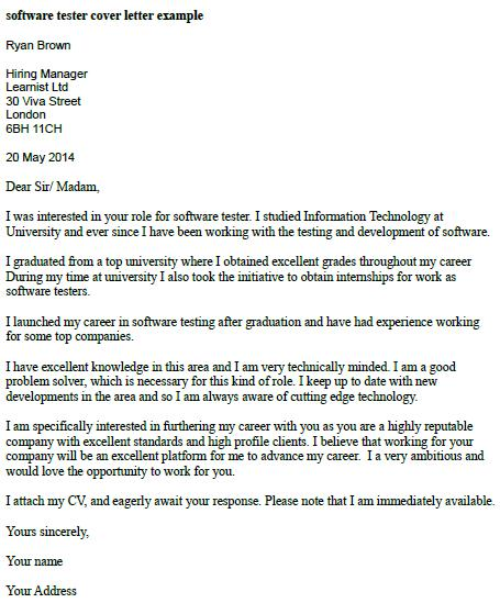 cover letter for software tester sample manual testing resume example headline or summary Resume Cover Letter For Manual Testing Resume