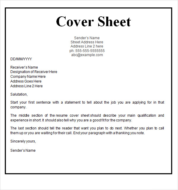 cover template free images fax sheet printable and resume newdesignfile letter ict Resume Resume Fax Cover Letter Template