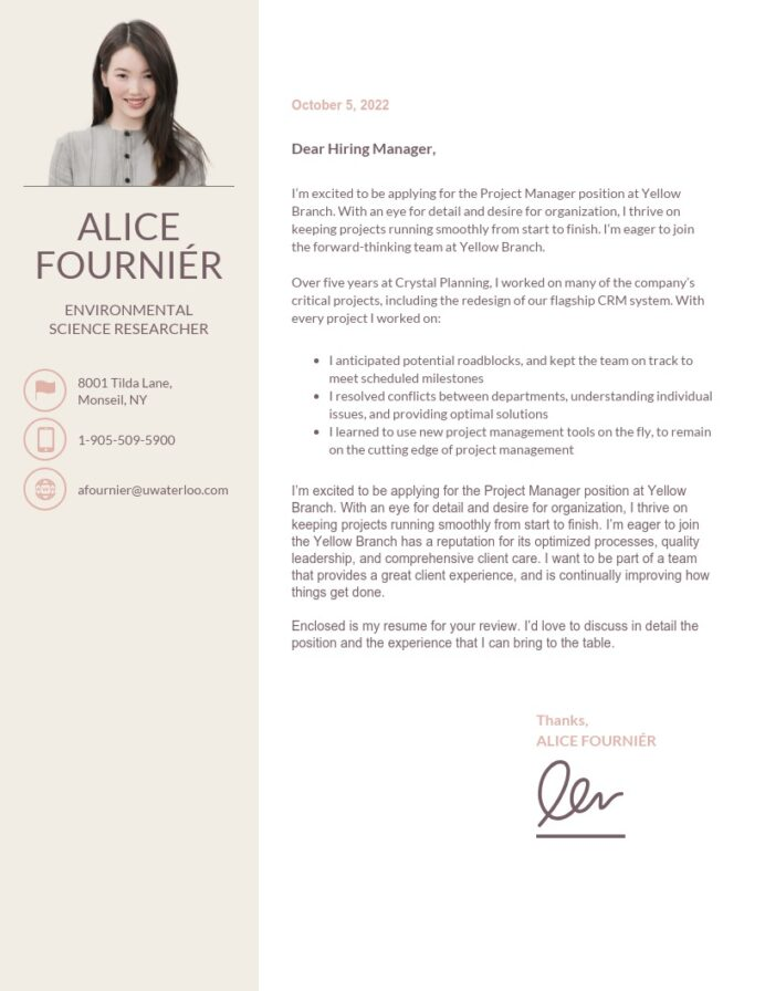 creative cover letter templates to impress employers venngage impressive resume with Resume Impressive Resume With A Cover Letter