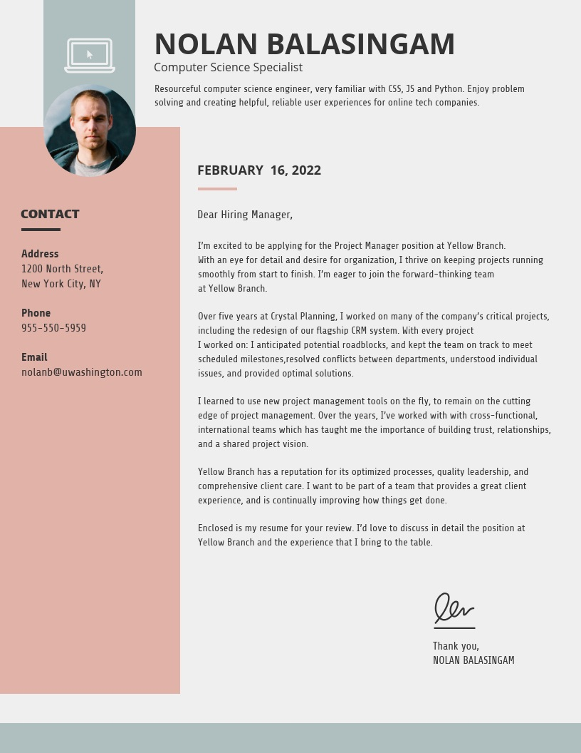 creative cover letter templates to impress employers venngage unique resume simple Resume Unique Resume Cover Letter