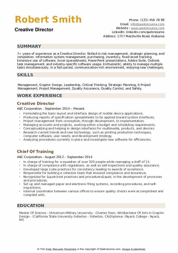 creative director resume samples qwikresume skills for pdf professional writing services Resume Creative Skills For Resume