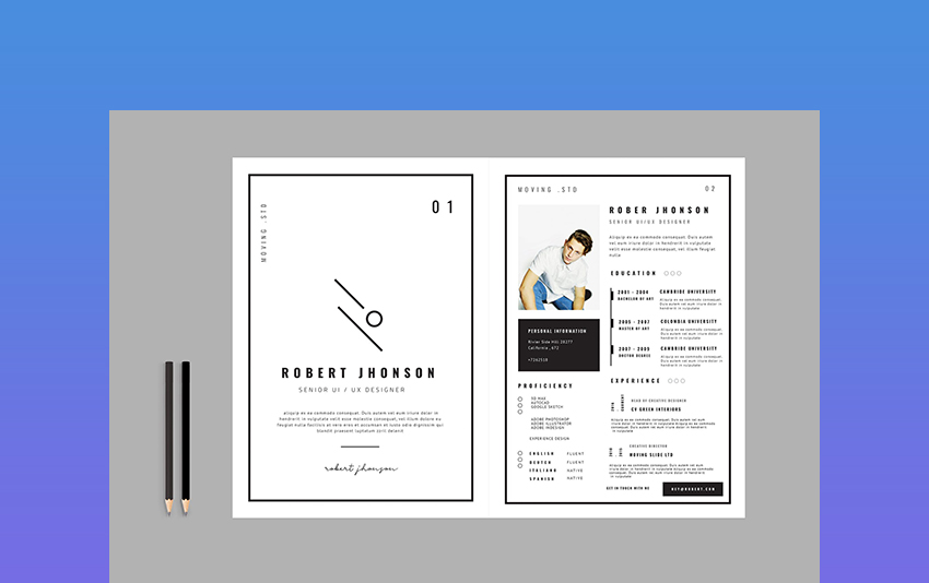creative dynamic resume cv templates for professional jobs in market free best header Resume Creative Market Resume Free