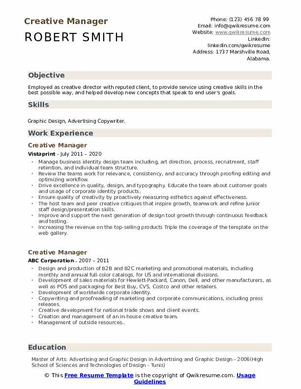 creative manager resume samples qwikresume skills for pdf professional writing services Resume Creative Skills For Resume
