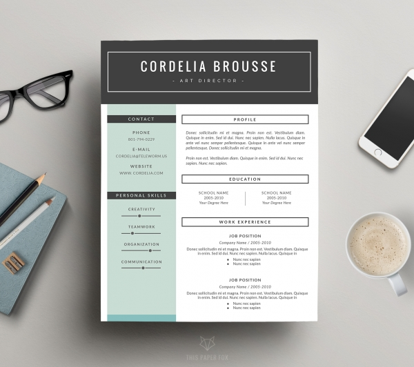 creative resume design cover letter for ms word business resumes luvly unique 600x food Resume Unique Resume Cover Letter