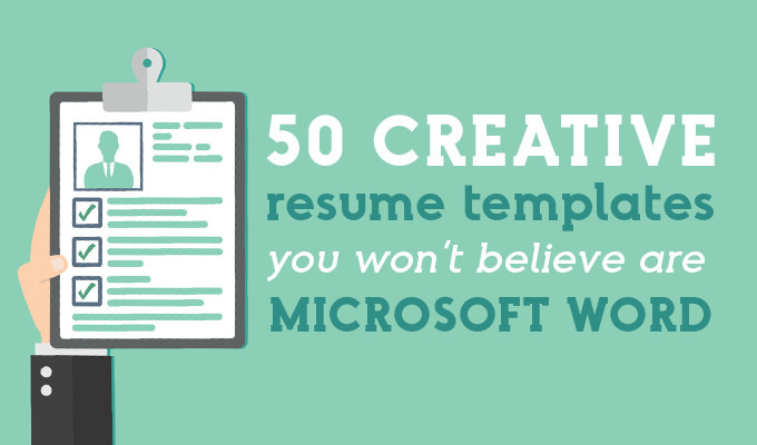 creative resume templates you won believe are microsoft word market blog free pic simple Resume Creative Market Resume Free