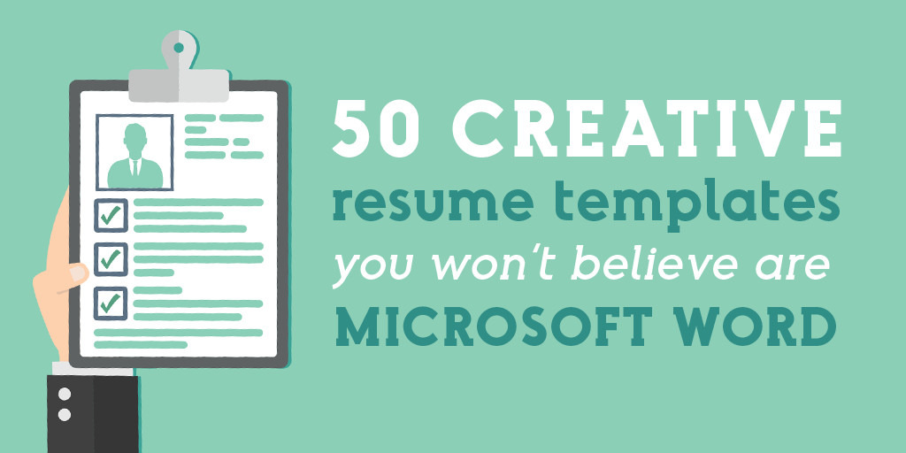 creative resume templates you won believe are microsoft word market blog nice Resume Nice Resume Templates Word
