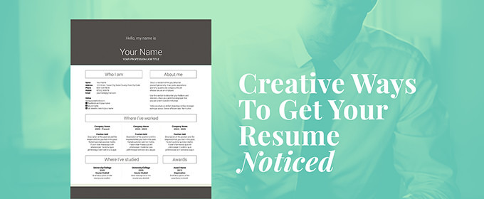 creative ways to get your resume noticed market blog skills for pic electrician summary Resume Creative Skills For Resume