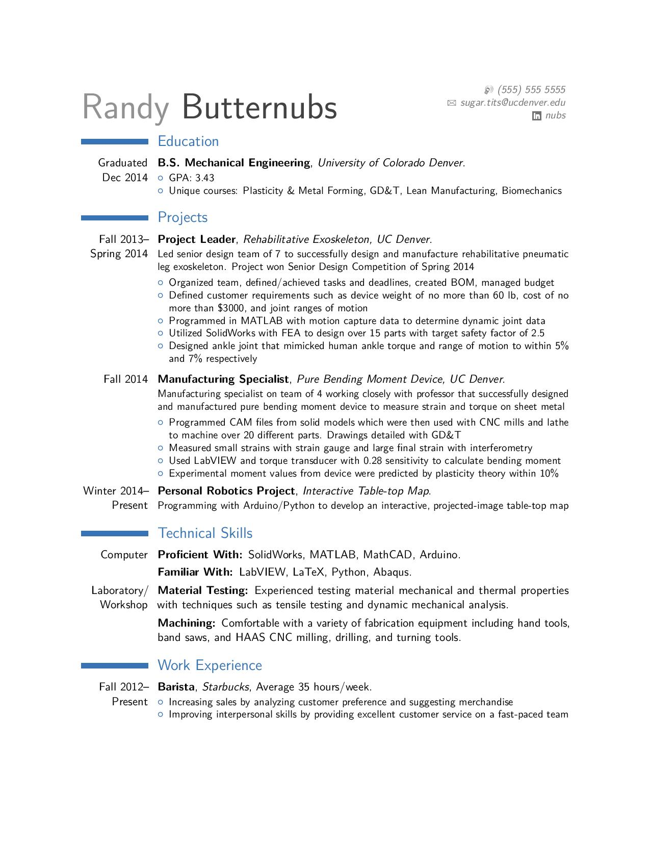 critique of entry level mechanical engineer resume forged in the fires mt doom take look Resume Engineering Resume Reddit