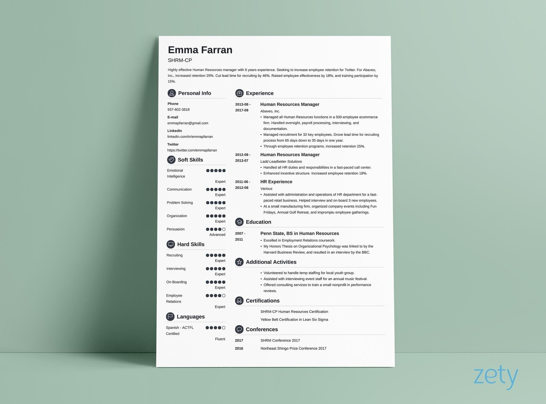 curriculum vitae cv format examples tips structure of resume writing vs professional Resume Structure Of Resume Writing