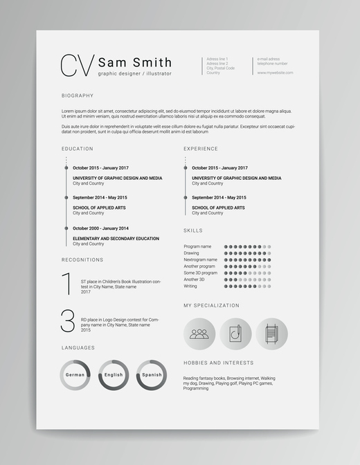 curriculum vitae cv vs resume which one do choose put another way llc and elegant Resume Curriculum Vitae And Resume