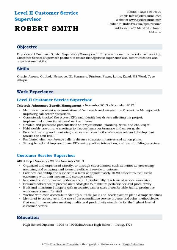 customer service supervisor resume samples qwikresume job description for pdf typical Resume Customer Service Supervisor Job Description For Resume
