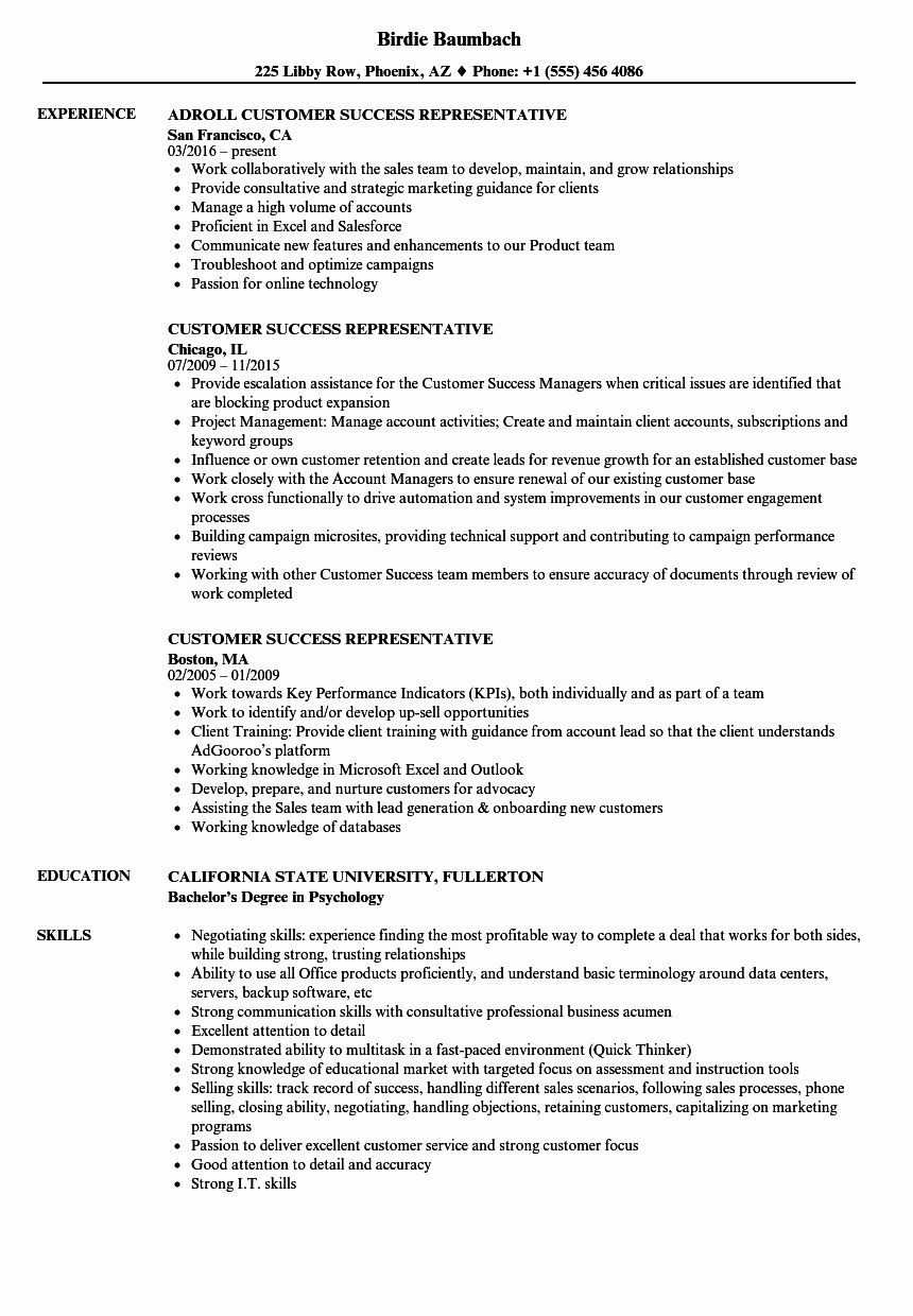 customer success manager resume best of representative samples in data analyst business Resume Customer Success Resume Sample