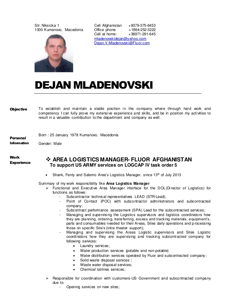 cv resume dejan mladenovski jan billeting coordinator conversion gate02 thumbnail well Resume Billeting Coordinator Resume
