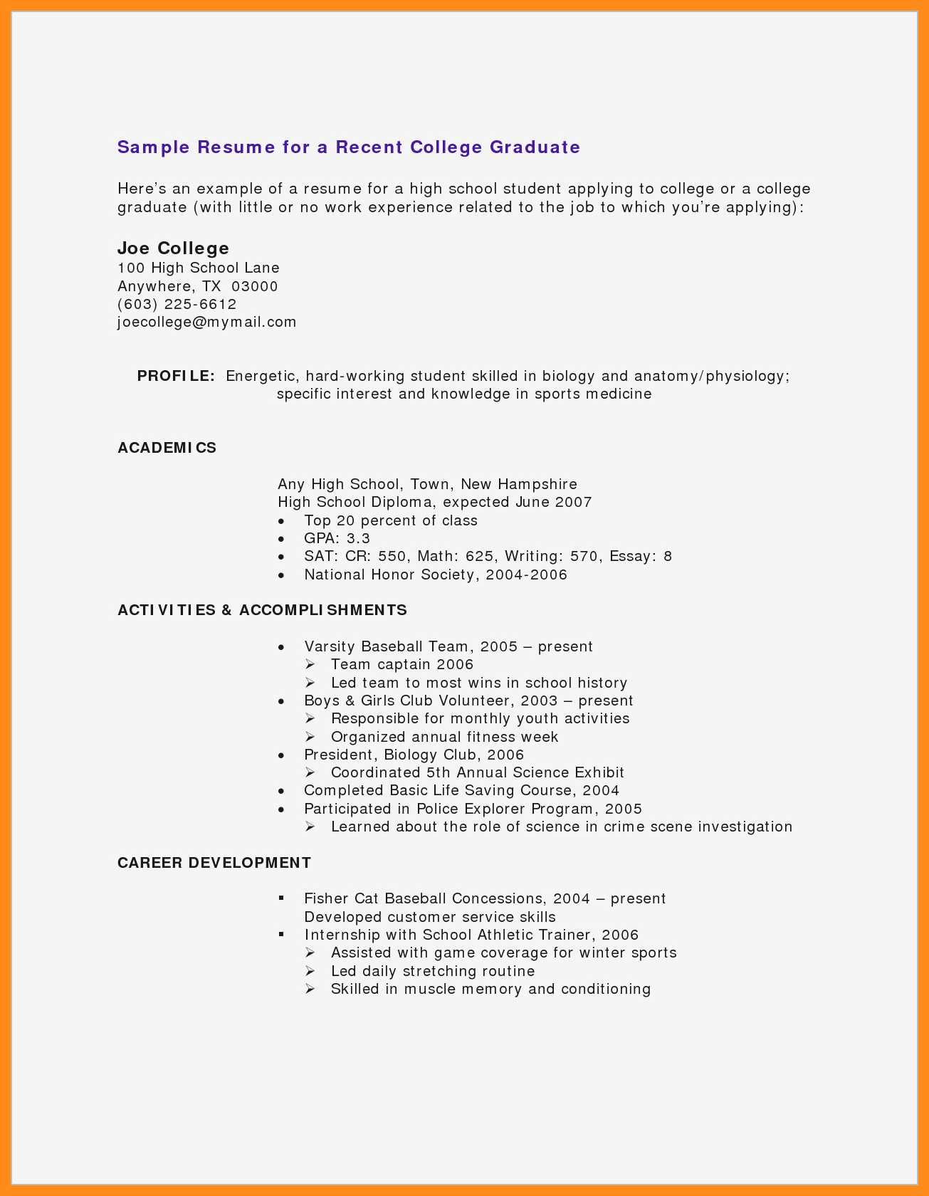cv samples for students with no experience pdf resume teenager little work microsoft Resume Resume For Teenager With Little Work Experience