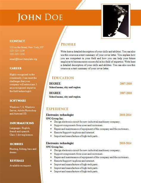 cv templates for word free template resume outline document cnc operator sample customer Resume Resume Outline Word Document