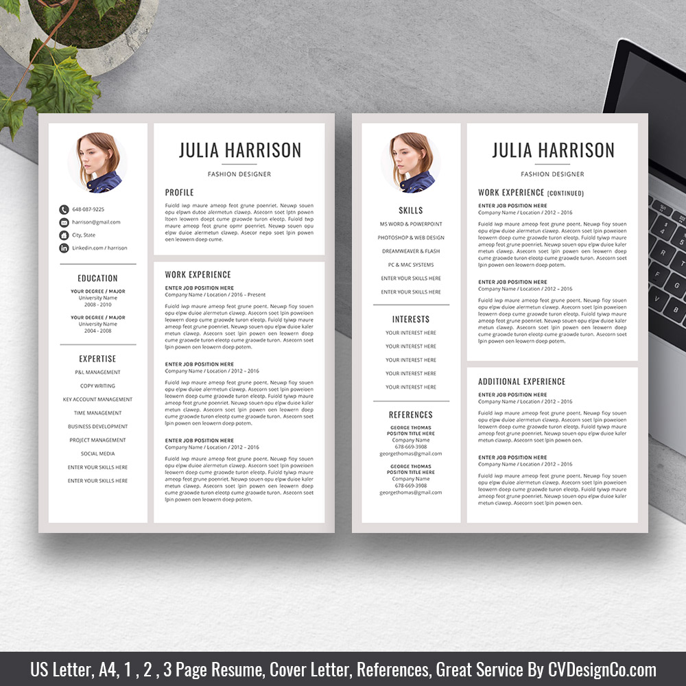cvdesignco best selling resume templates for job hunters and fresh graduates most Resume Most Professional Looking Resume