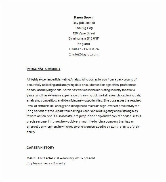data analyst resume indeed lovely marketing template free samples examples format in job Resume Marketing Analyst Resume