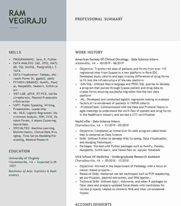 data science consultant resume example deloitte consulting llp web scraping sample liz Resume Web Scraping Resume Sample
