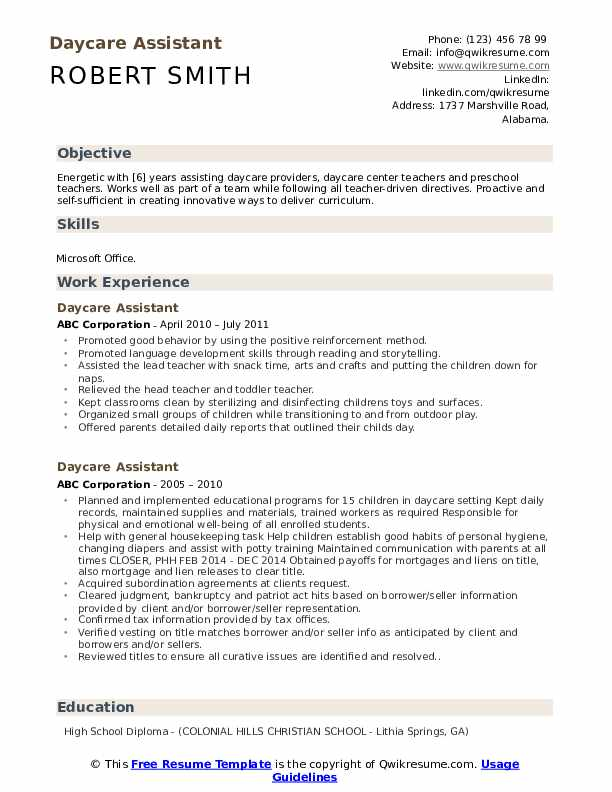 daycare assistant resume samples qwikresume teacher pdf oracle 10g salesperson Resume Daycare Teacher Assistant Resume