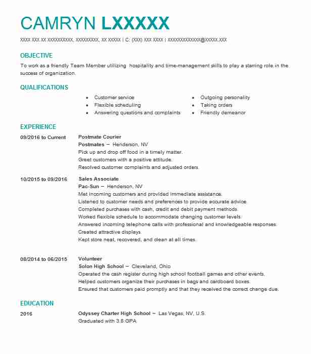 delivery postmate resume example postmates ridgewood new can you put on contractor Resume Can You Put Postmates On Resume