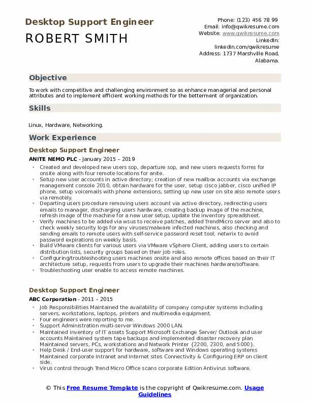 desktop support engineer resume samples qwikresume pdf security clearance on itouch Resume Desktop Support Engineer Resume