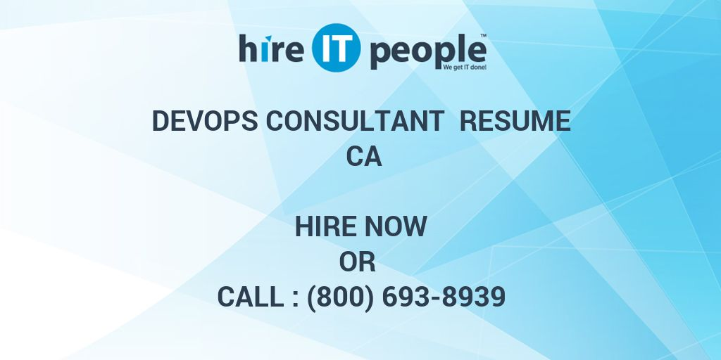 devops consultant resume hire it people we get done maintenance manager sample hockey Resume Devops Consultant Resume
