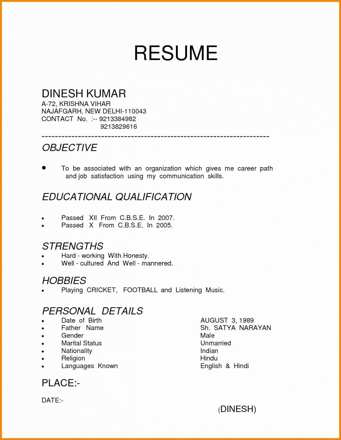different resume formats format examples in word professional layout graduate school Resume Professional Resume Layout