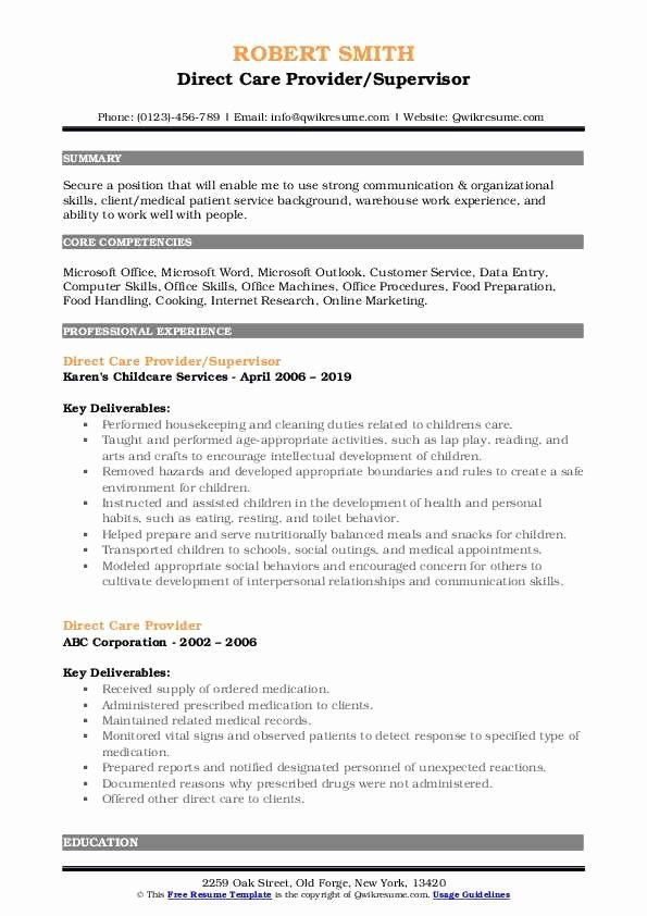direct care worker resume new provider samples in customer service job manager staff Resume Direct Care Staff Job Description For Resume