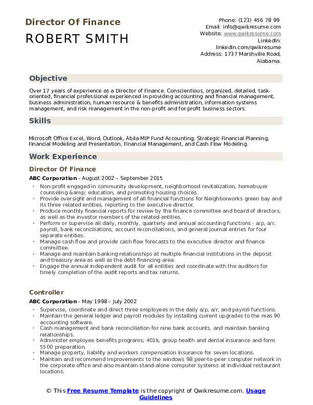 director of finance resume samples qwikresume transfer pricing pdf big data for year Resume Transfer Pricing Resume