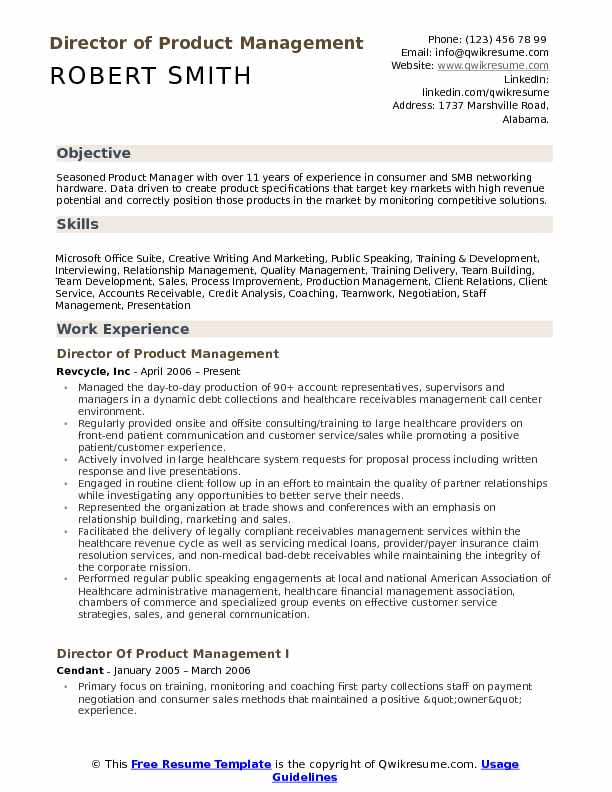 director of product management resume samples qwikresume manager pdf premium template Resume Mobile Product Manager Resume