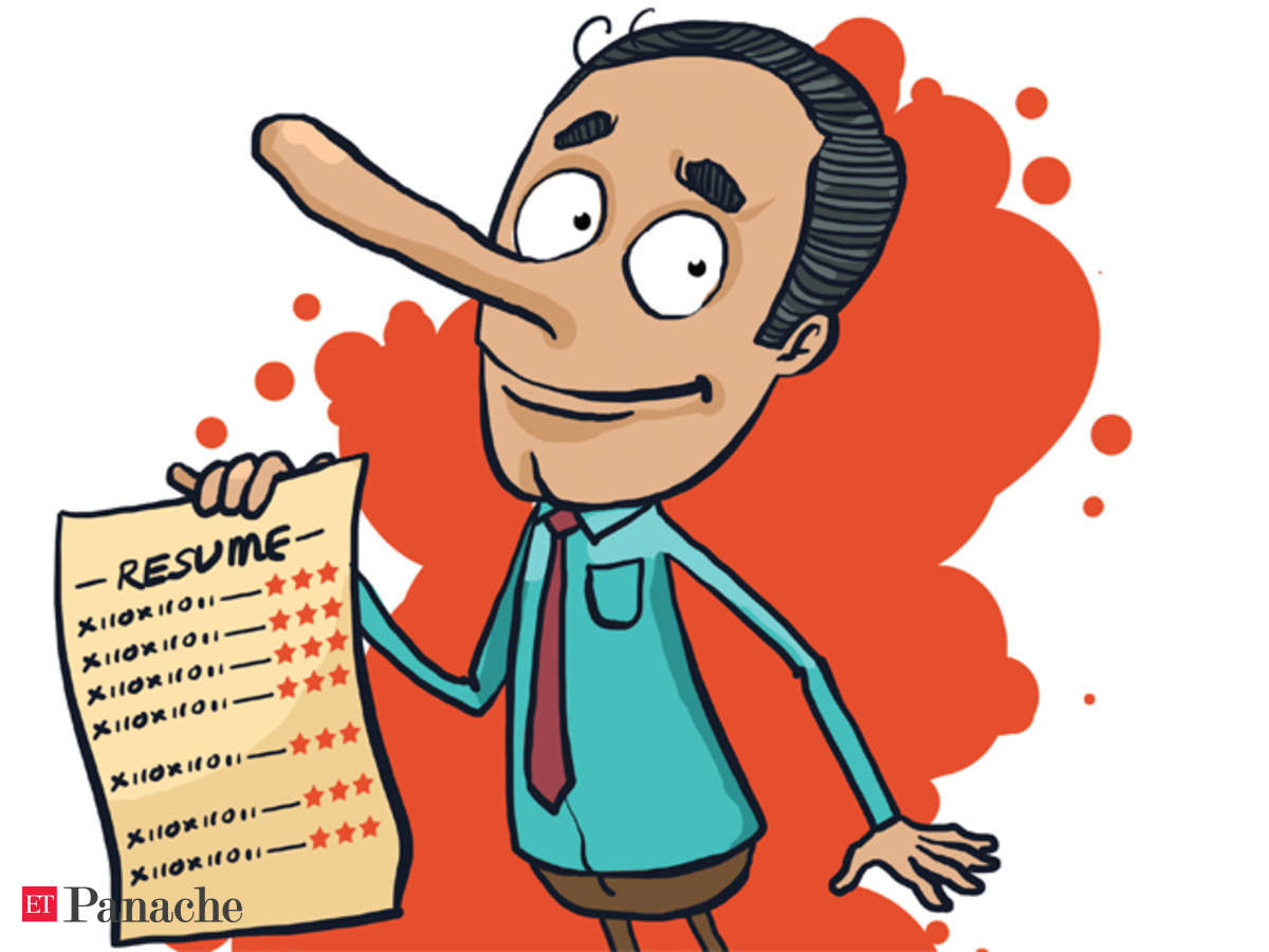 don lie on your untrue credentials can land you in soup the economic times dismissed for Resume Dismissed For Lying On Resume