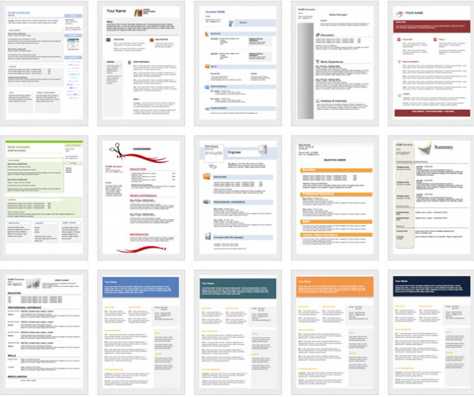 downloadable and editable free cv templates get resume template portfolio examples Resume Free Resume Templates Editable