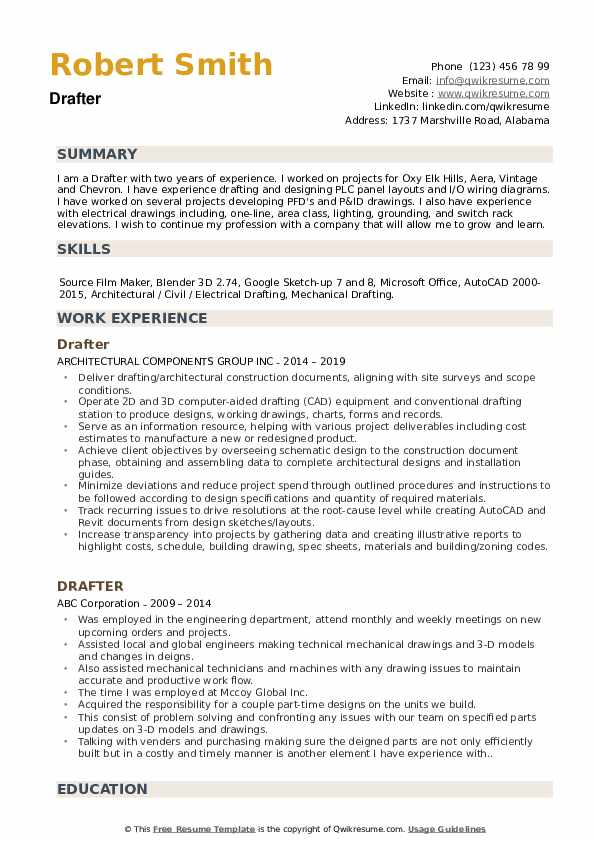 drafter resume samples qwikresume entry level sample pdf should you always include cover Resume Entry Level Drafter Resume Sample