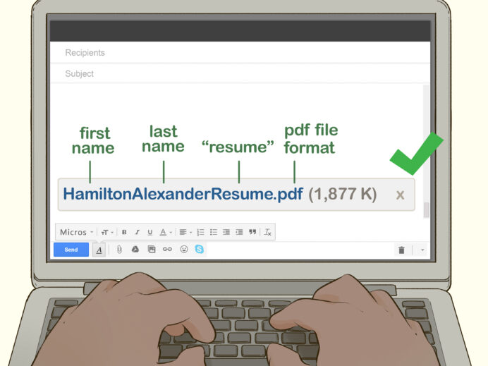 easy ways to write subject line when sending your cv by email title for resume step Resume Title For Sending Resume