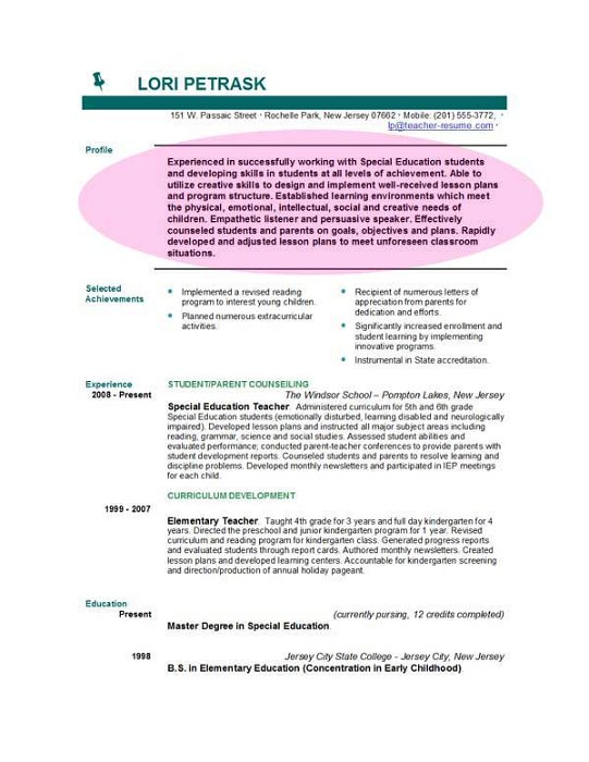 education mission statement resume for teacher writing objectives federal guidebook Resume Mission Statement For Teacher Resume