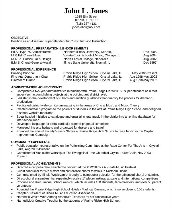 education resume templates pdf free premium template administration in amcat format for Resume Education Resume Template