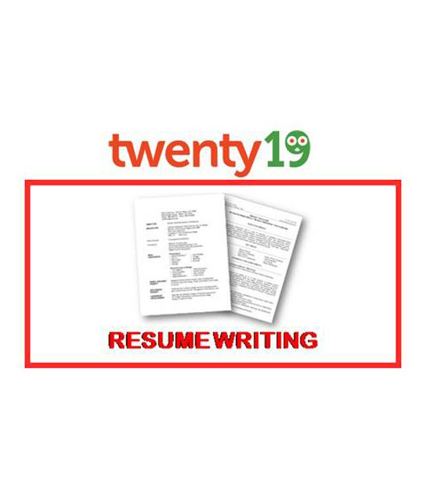 effective resume writing course by twenty19 at low in snapdeal sdl605992624 designer Resume Effective Resume Writing