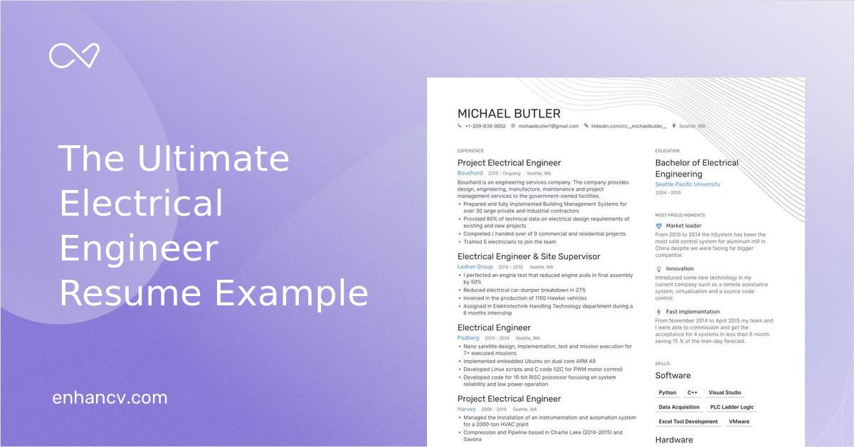 electrical engineer resume examples pro tips featured enhancv best headline for Resume Best Resume Headline For Electrical Engineer